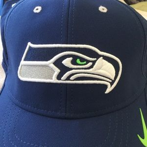 Nike Accessories - Seattle Seahawks Nike Vapor Dri-Fit Adjustable Hat cf260ed1a
